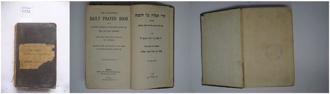 The Authorized Daily Prayetr Book of the United Hebrew Congregations of the British Empire. (5686-1925)